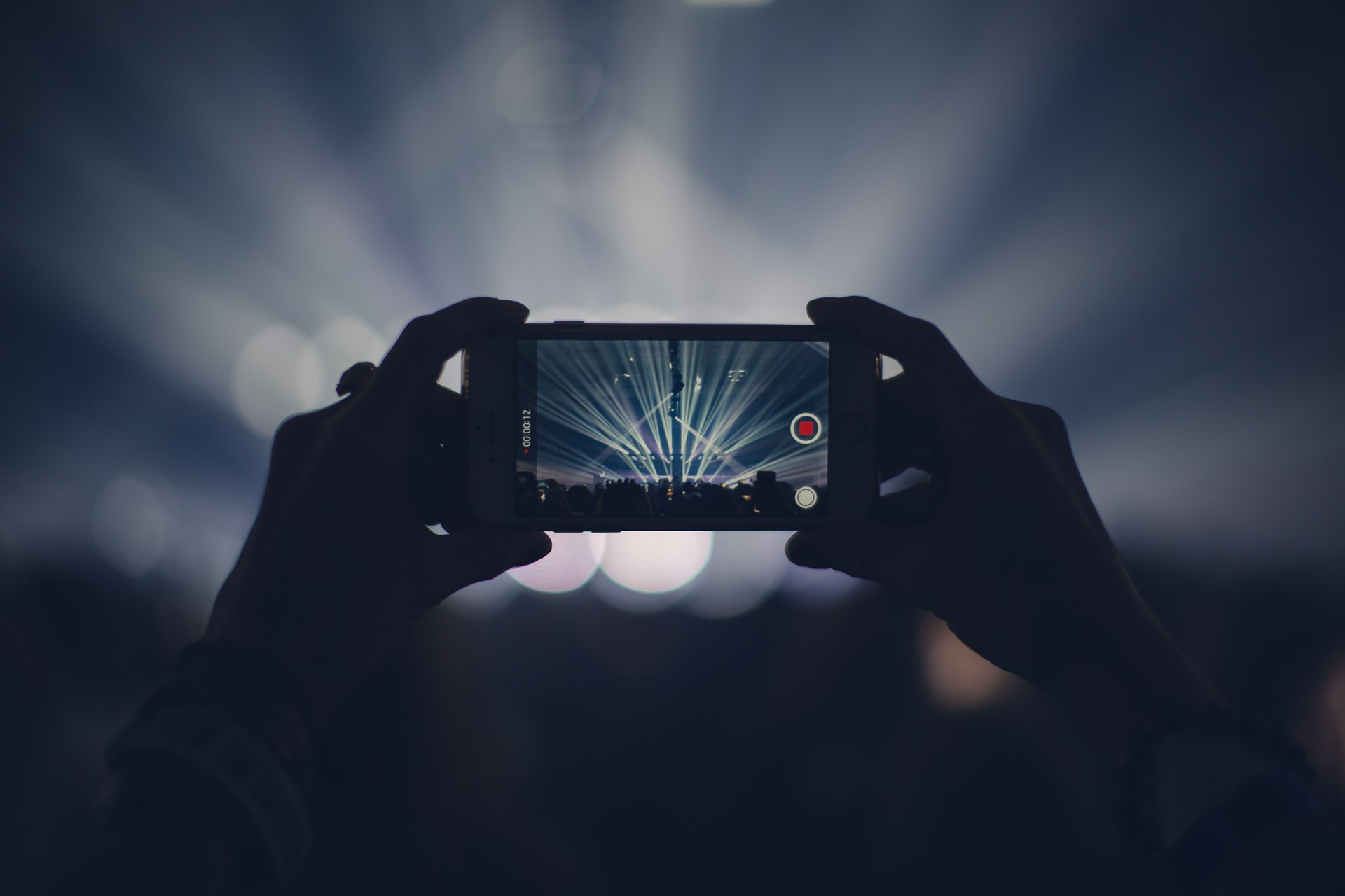 Live streaming a concert