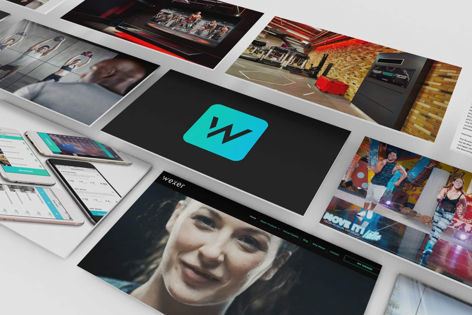 Wexer branding