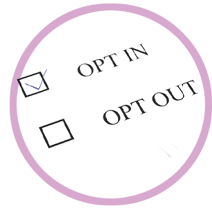 Opt in or Out Image