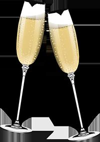 Champagne Glasses Image