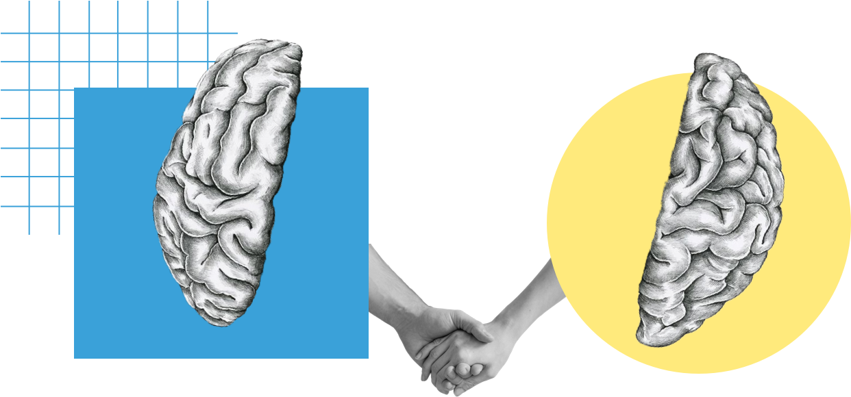 Brainsshakinghands