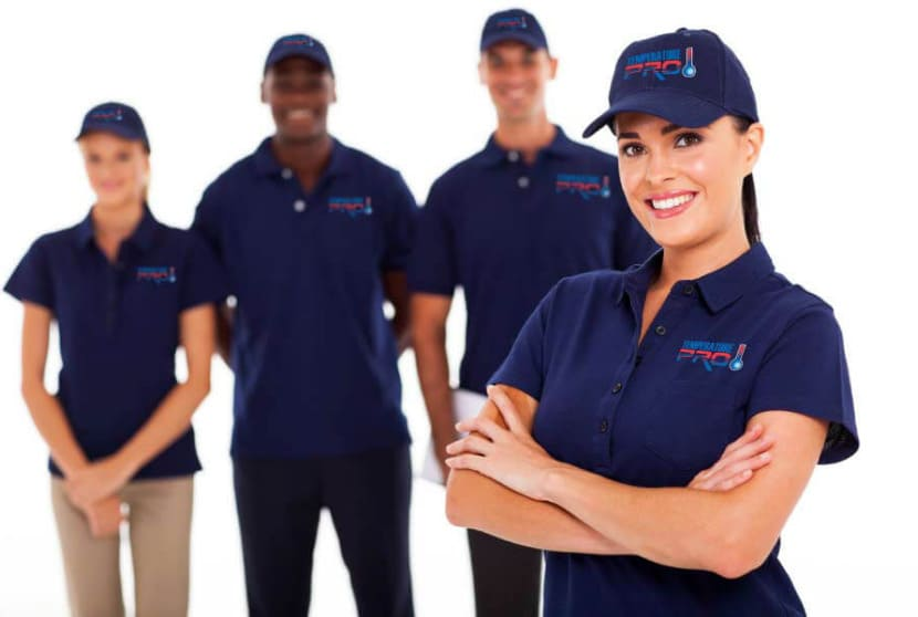 Temperature Pro Workers AC Repair in The Woodlands, Texas