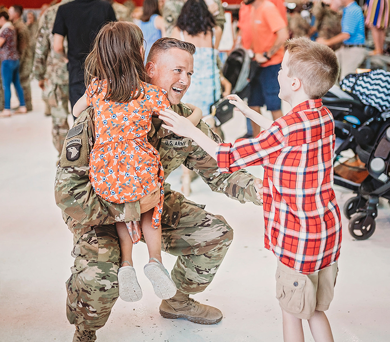 Military Homecoming Photography | Visuals