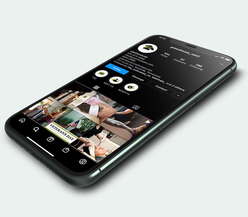 GREENHOUSE Comfort Spa | Social Media Management