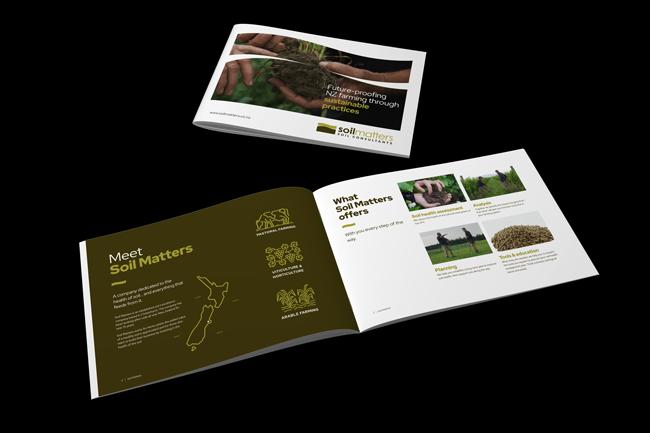 Soil Matters Soil Health Brochure