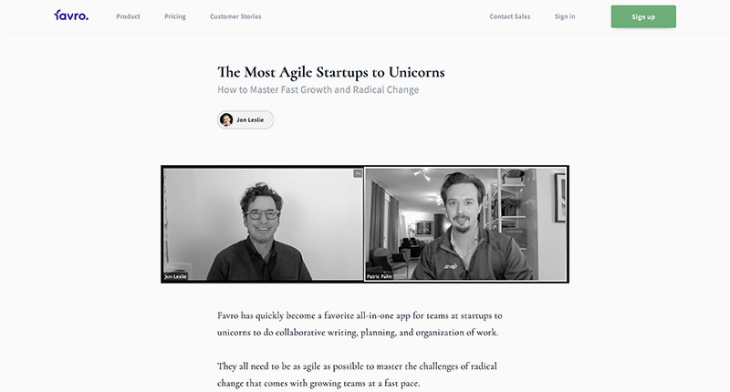 The Most Agile Startups to Unicorns