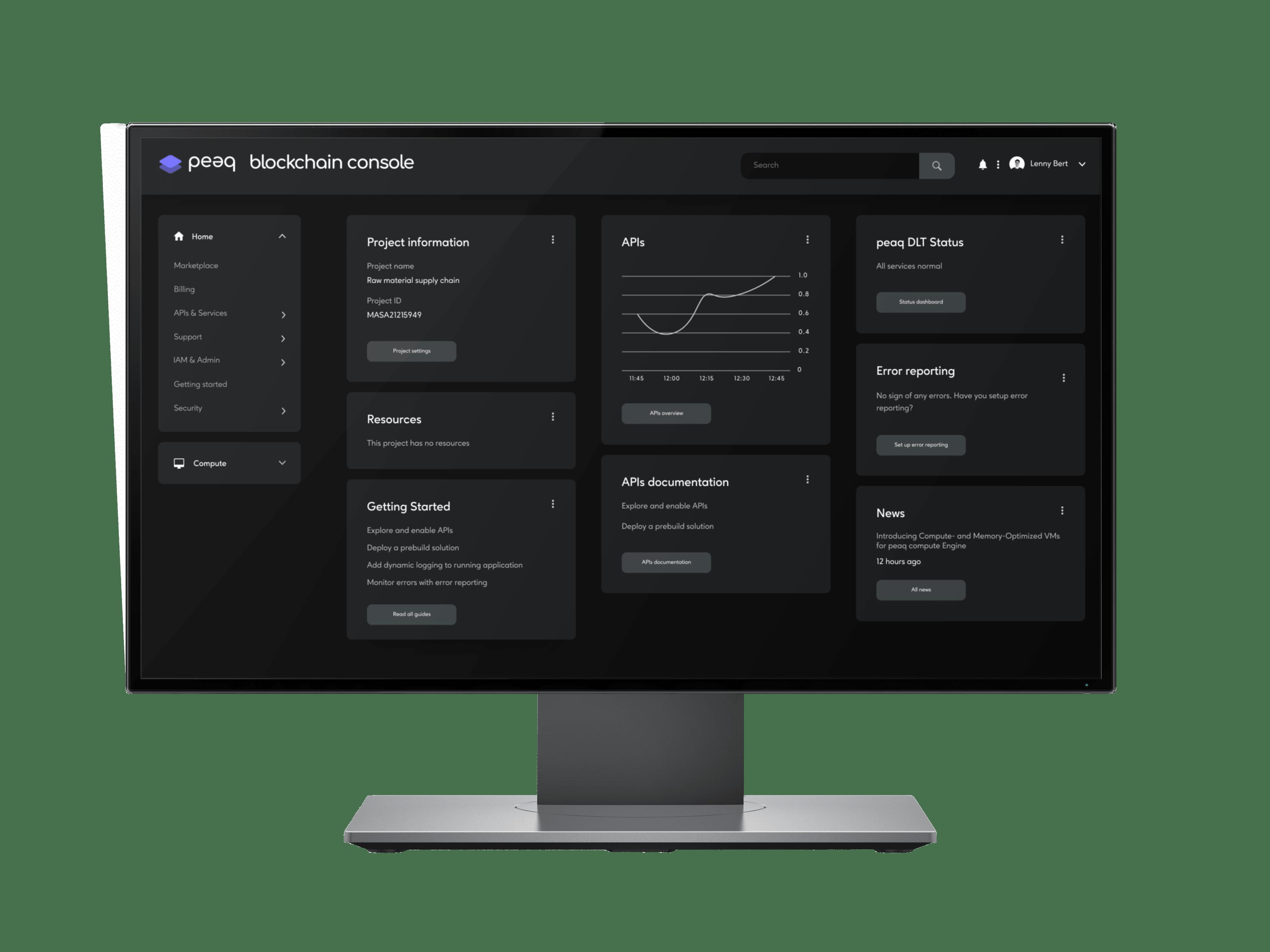 peaq blockchain console