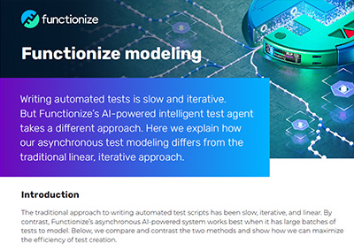 Functionize Modeling