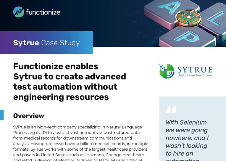 Sytrue Case Study