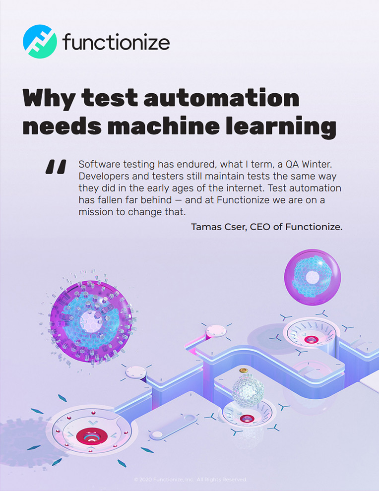 Why test automation needs machine learning