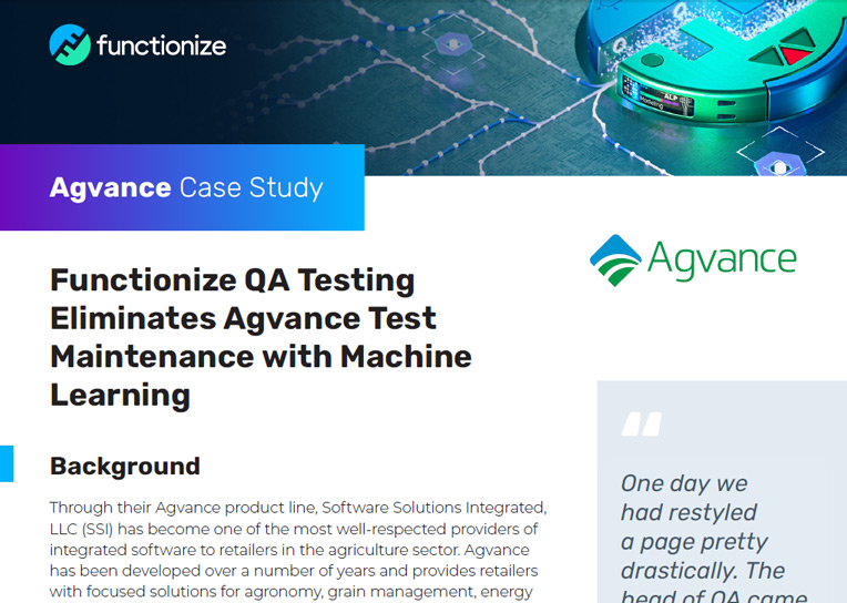 Agvance Case Study