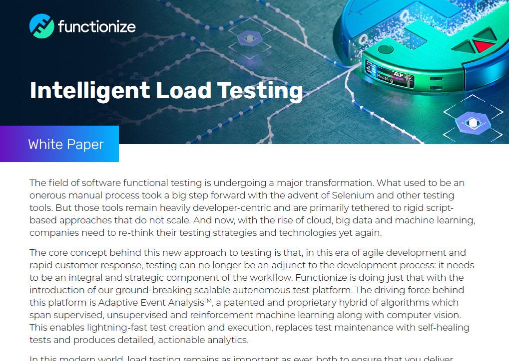 Intelligent Load Testing