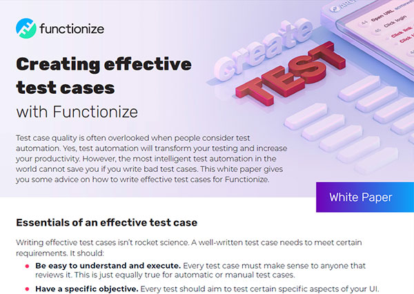 Best Practices for Effective Test Case Writing