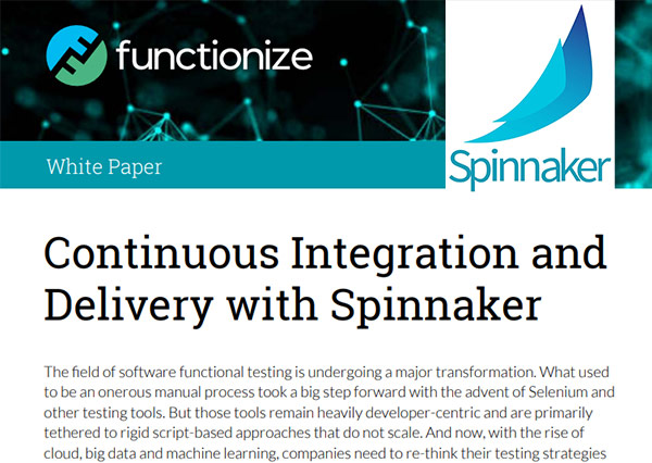 Continuous Integration and Delivery with Spinnaker