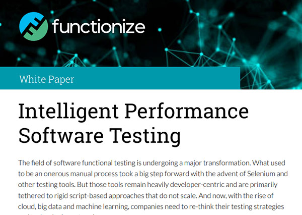 Intelligent Performance Software Testing
