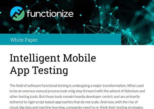 Intelligent Mobile App Testing