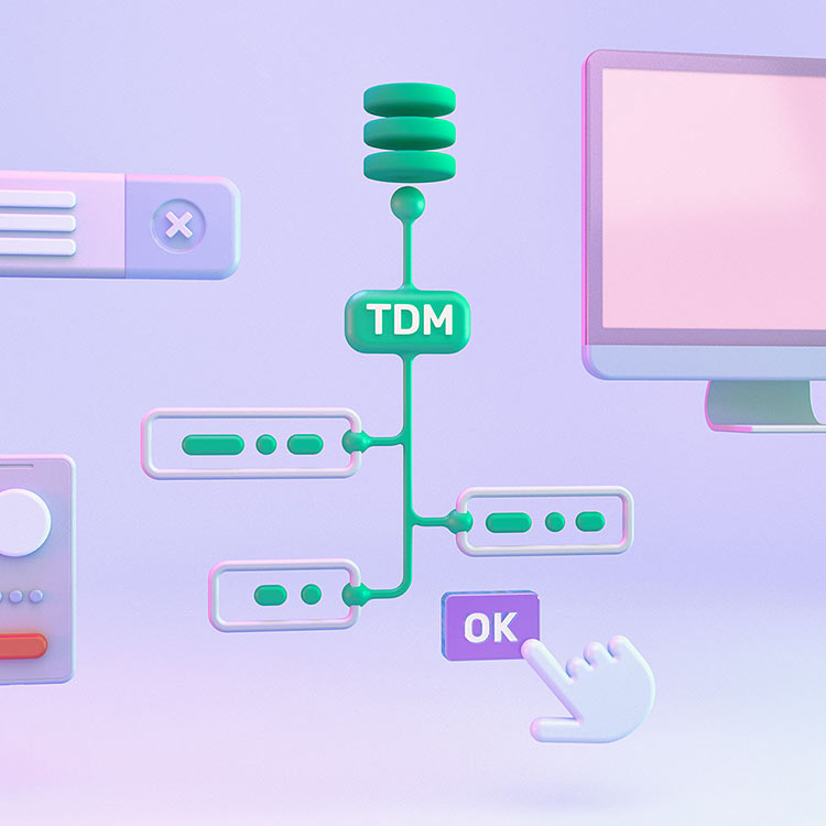 Rich features to test real world scenarios: TDM, Cross-browser, role-based testing