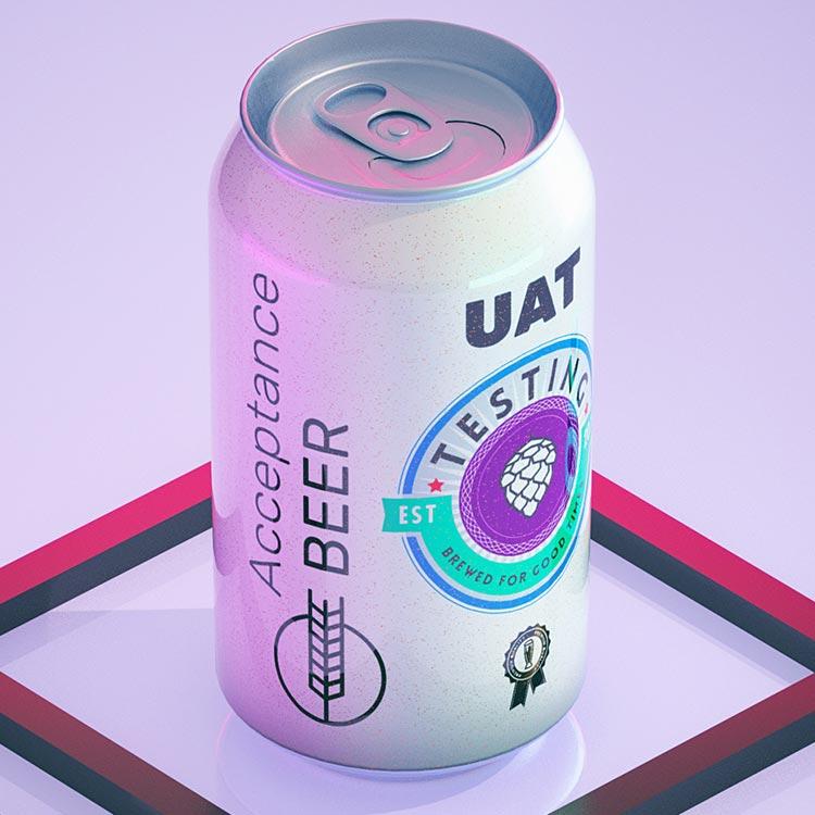 Acceptance testing, UAT beer