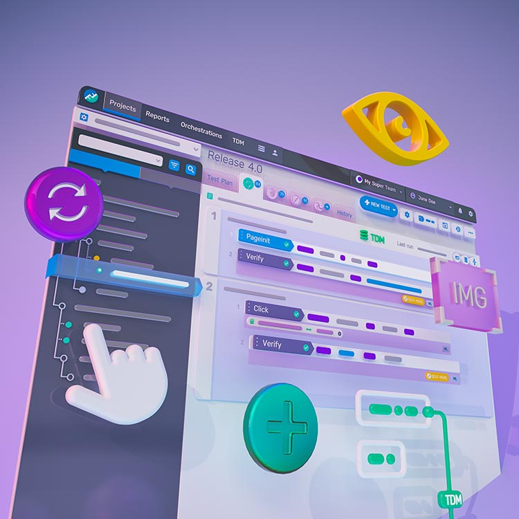 Functionize smart test automation lets anyone create end-to-end tests in minutes. Tests are powered by AI/ML to run on any browser and self heal as your site changes.