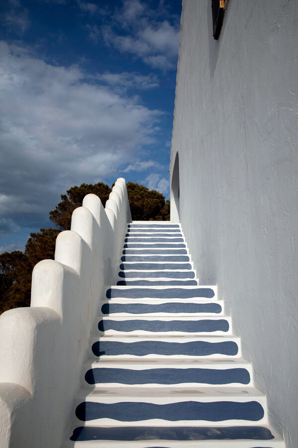 stairs menorca experimental hotel