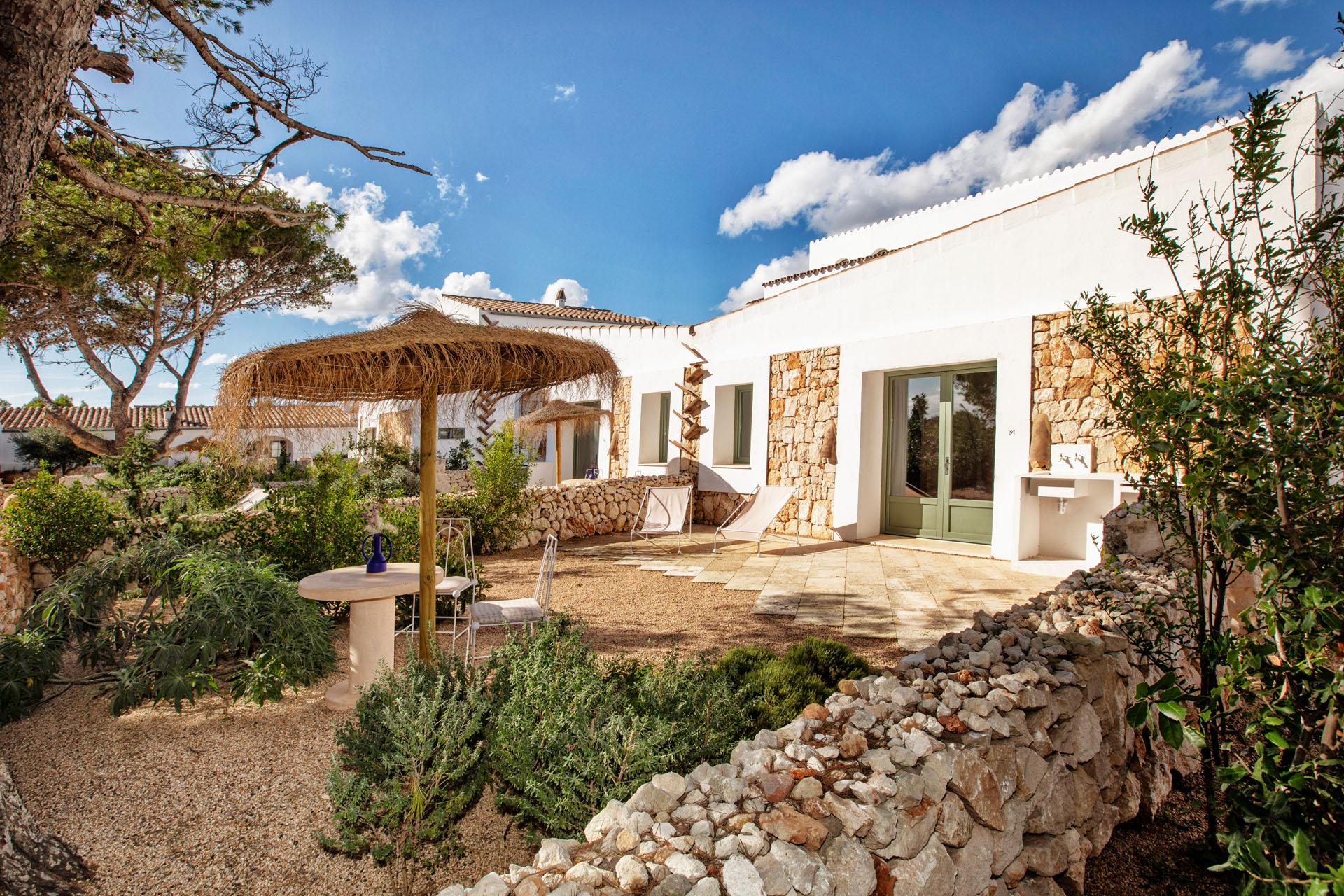 Habitación Mahon Garden 5 hotel experimental de Menorca
