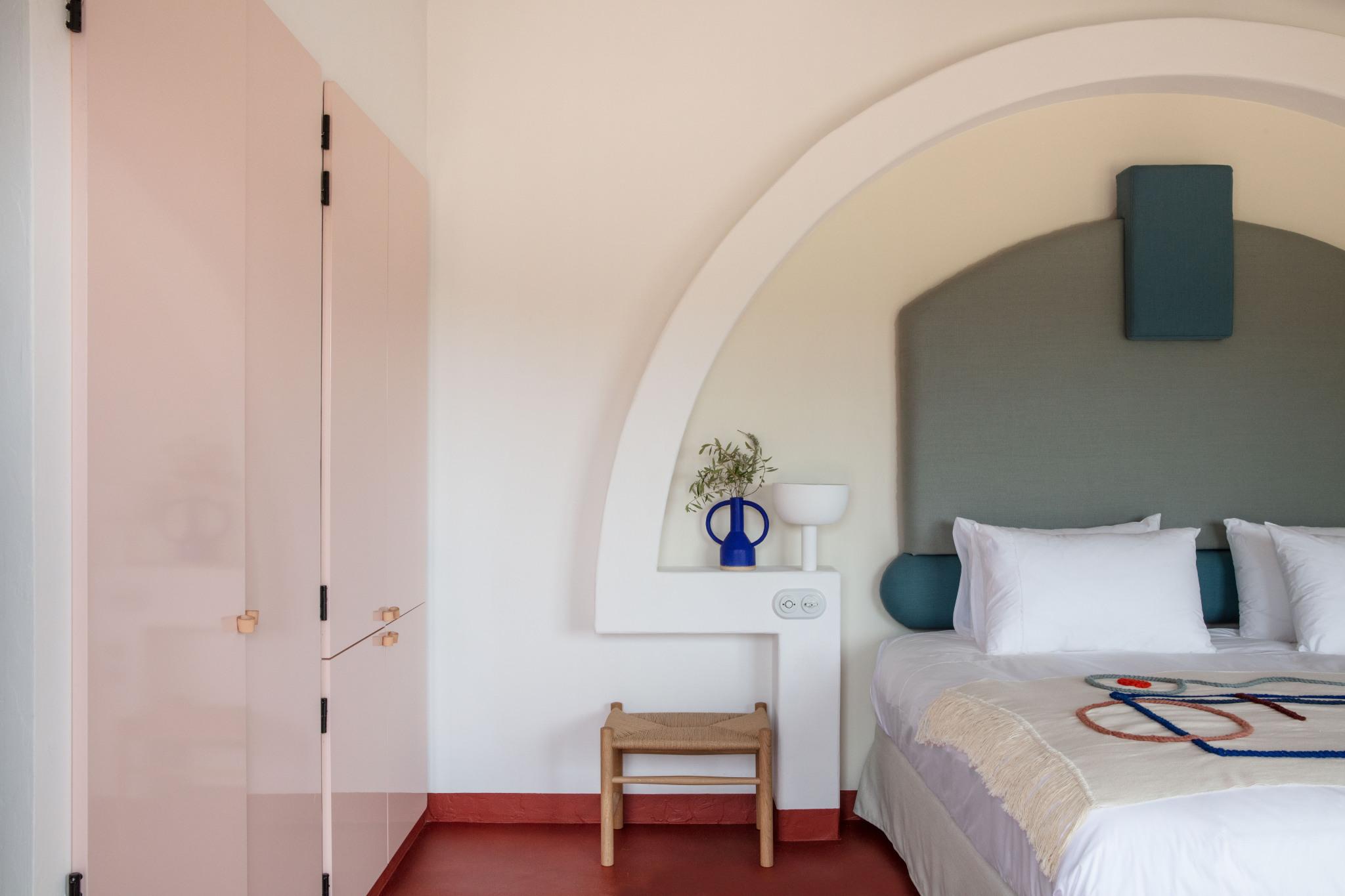Habitación Son Bou 2 hotel experimental de Menorca
