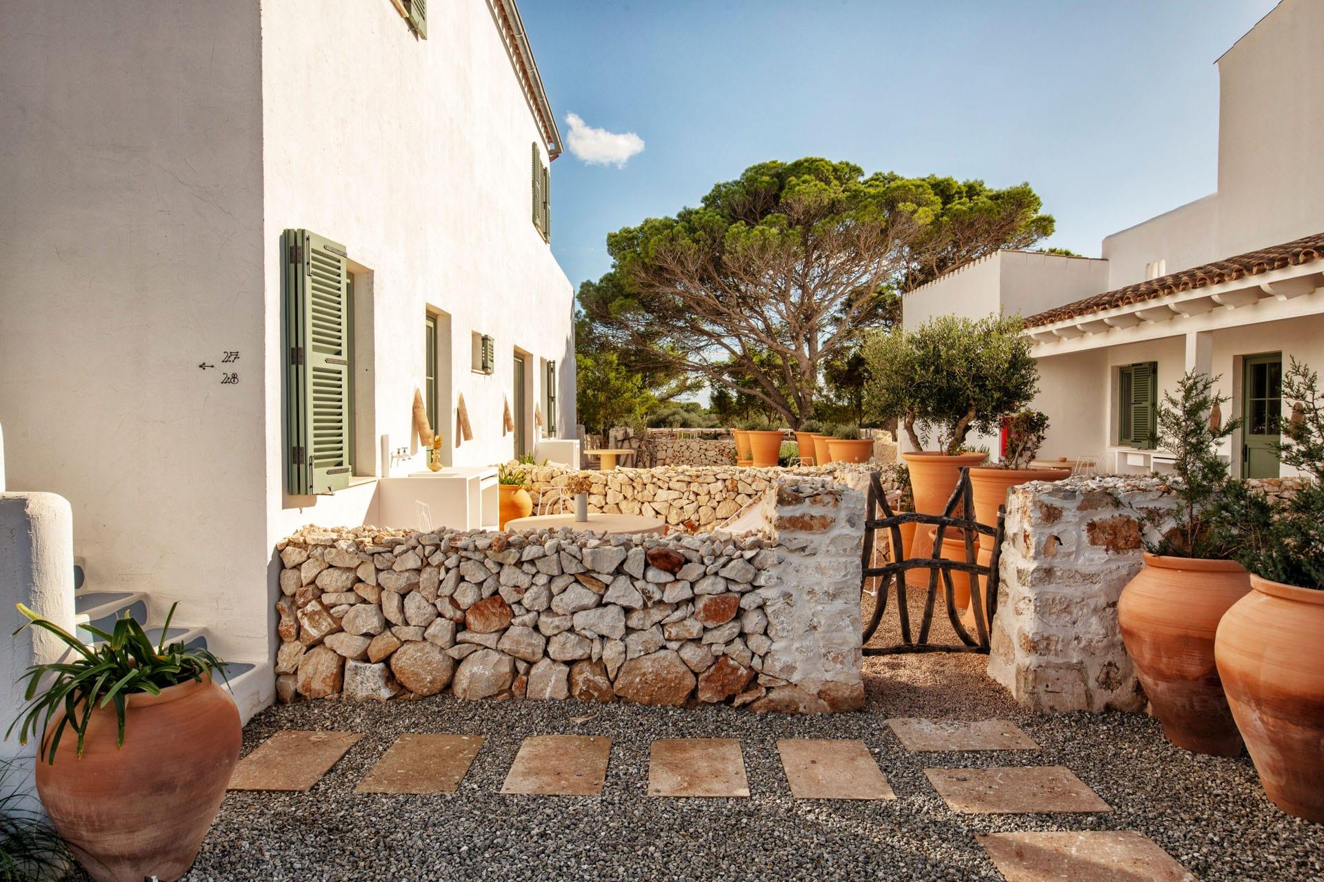 Habitación Alaior Garden 4 hotel experimental de Menorca