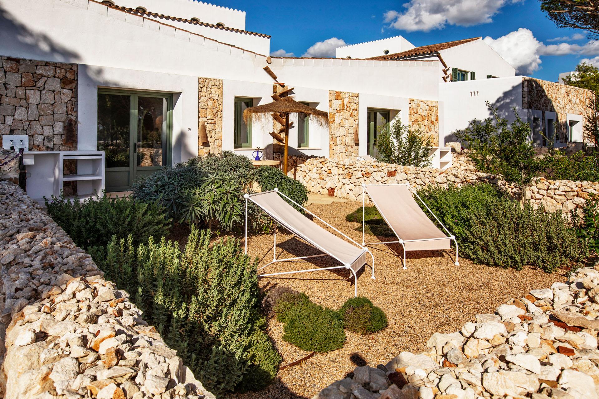 Habitación Mahon Garden 4 hotel experimental de Menorca