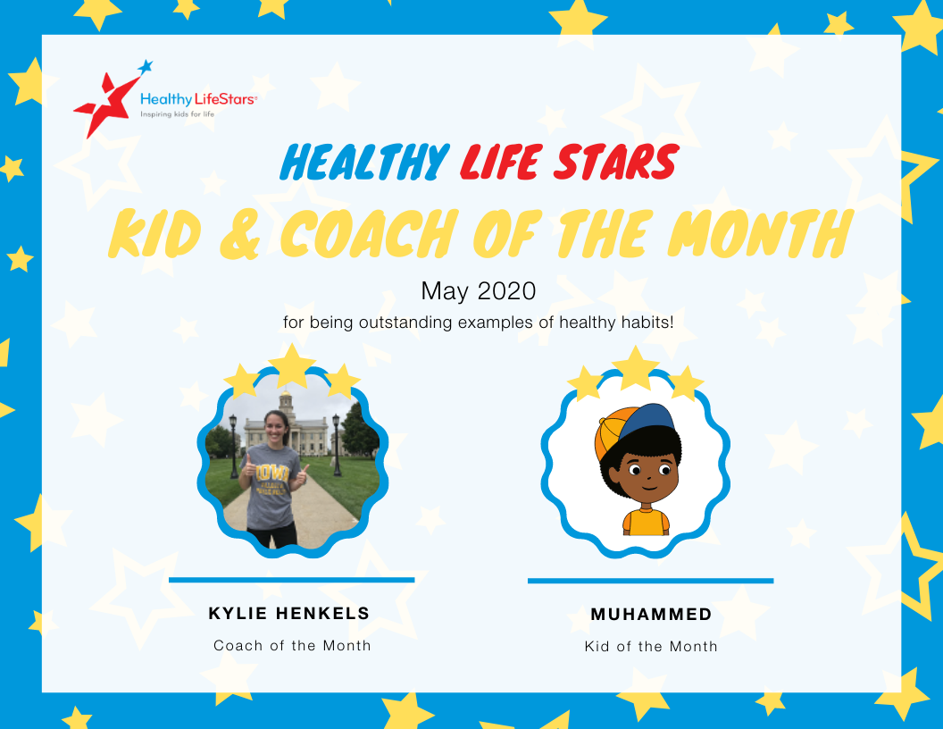 May Kid and Coach of the Month