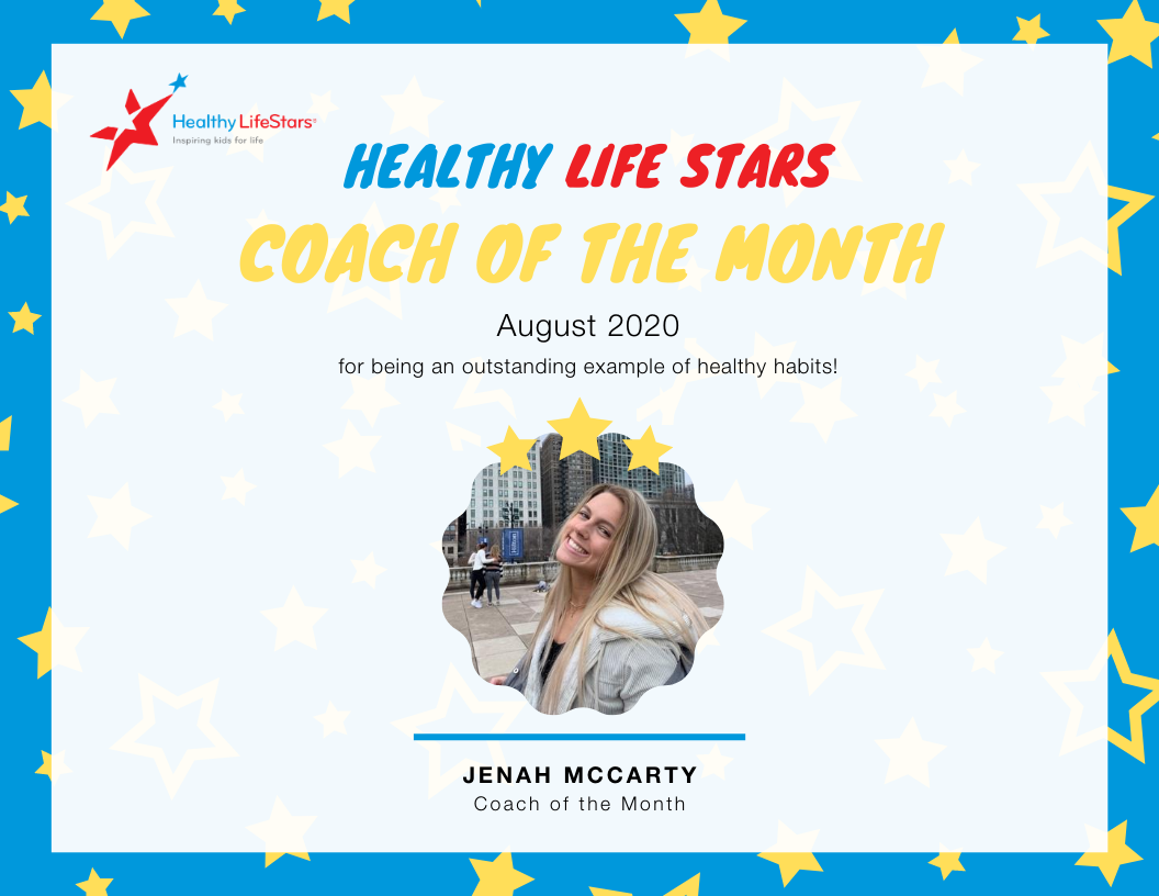 August Kid and Coach of the Month