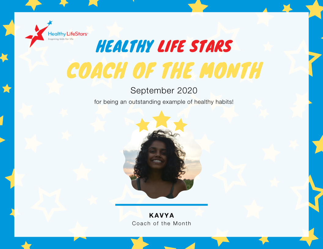 September Kid and Coach of the Month