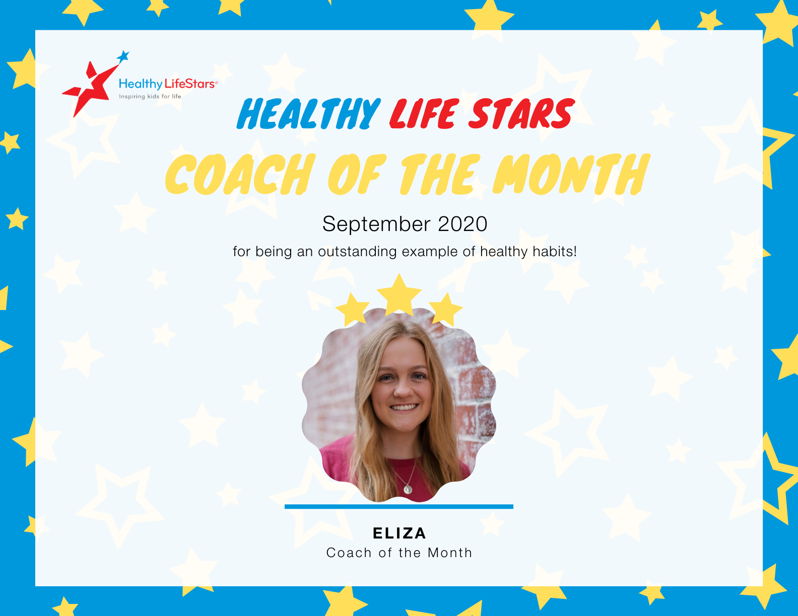 October Kid and Coach of the Month