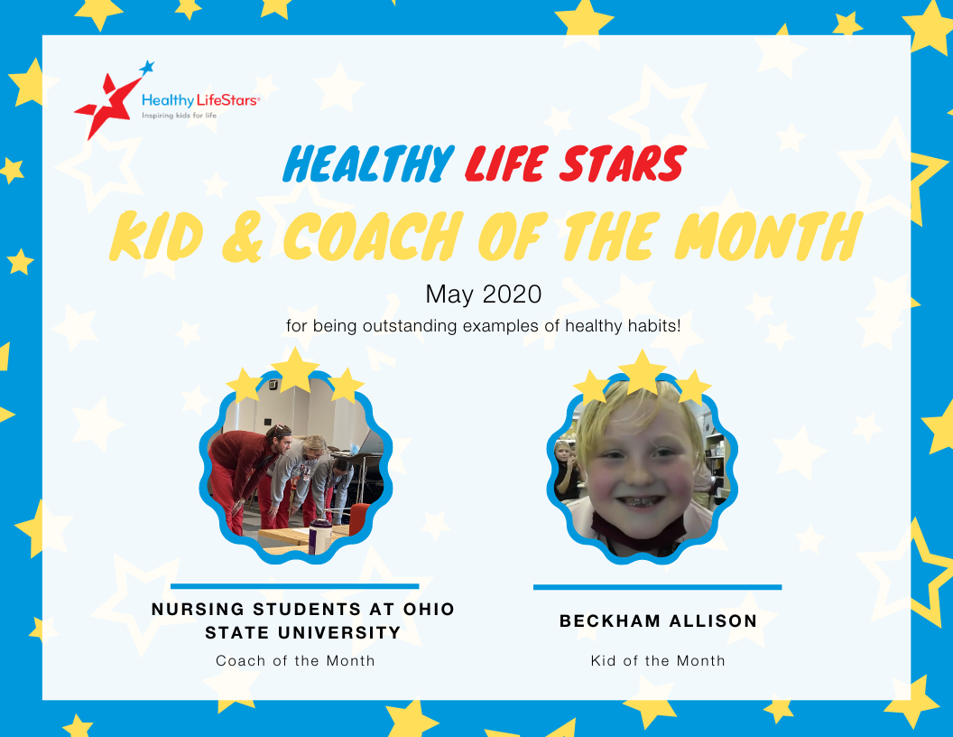 November Kid and Coach of the Month