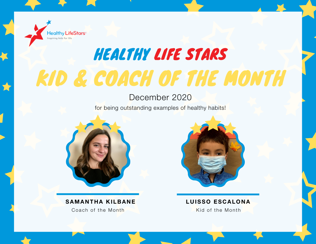 December Kid and Coach of the Month
