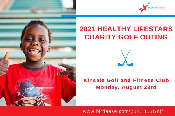 Healthy LifeStars Ohio Golf Charity Event Aug 23, 2021