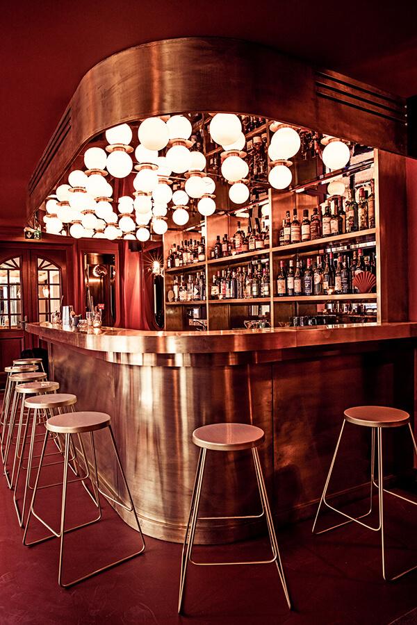 bar 4 hôtel des grands boulevards paris