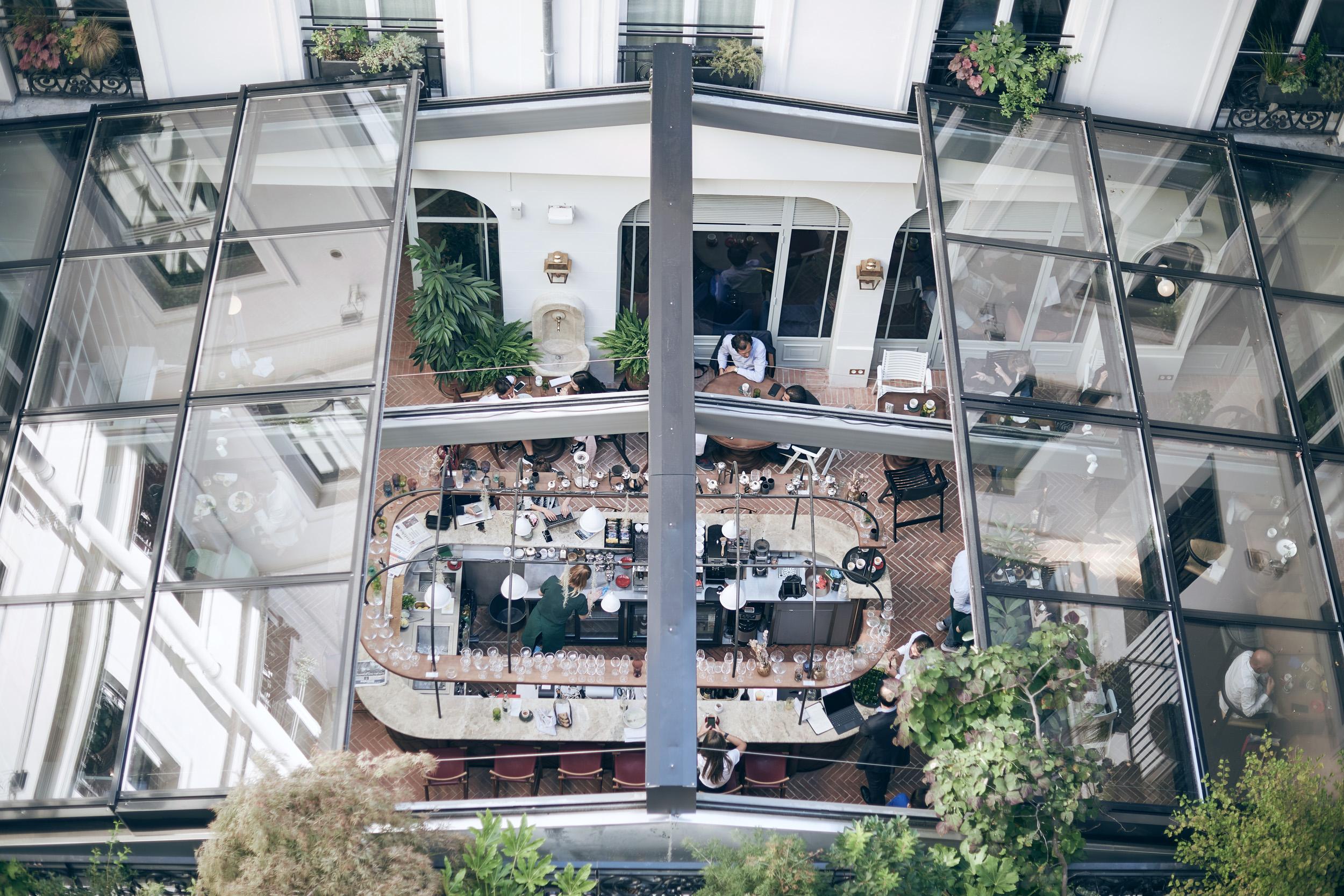 restaurant 7 hôtel des grands boulevards paris