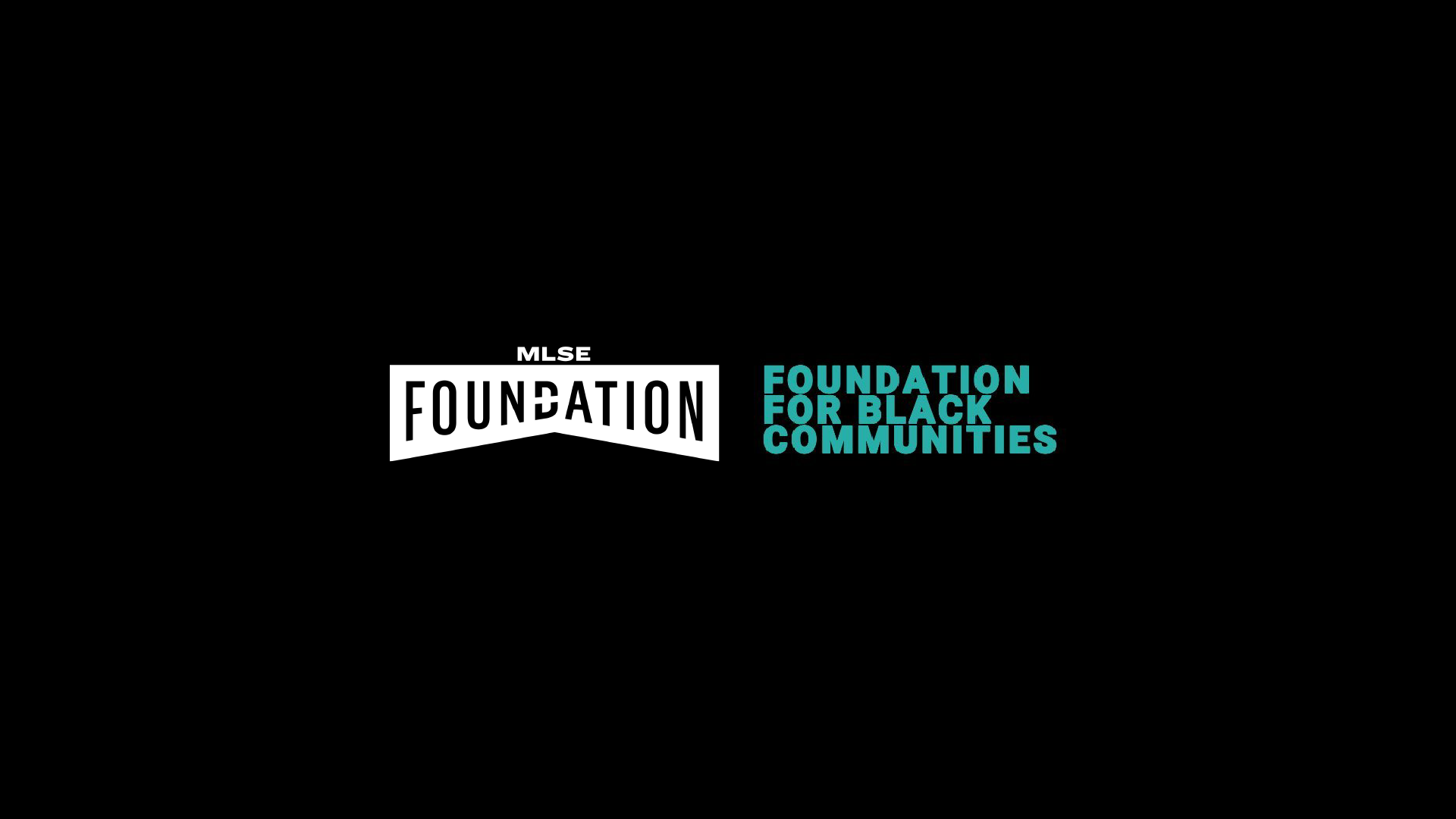 MLSE FOUNDATION PARTNERS WITH FOUNDATION FOR BLACK COMMUNITIES TO SUPPORT GROWTH OF BLACK COMMUNITIES THROUGH SPORT