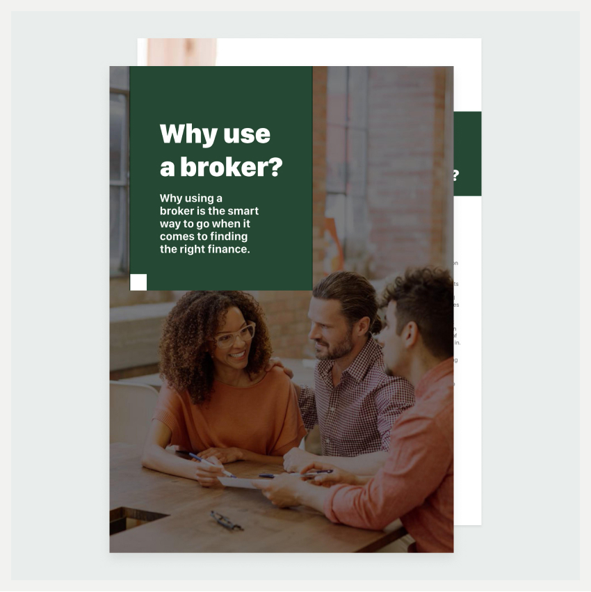 Image of an eBook titled Why use a mortgage broker