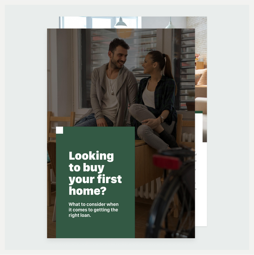 Image of an eBook titled Looking to buy your first home?