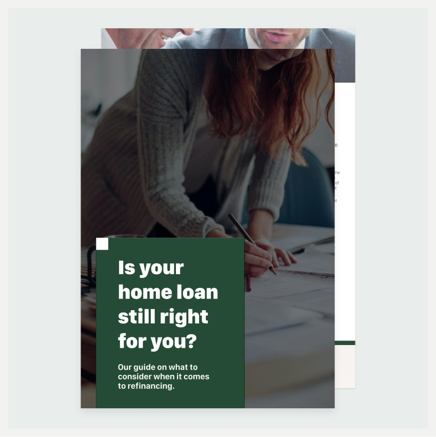 Image of an eBook titled Is your home loan still right for you?