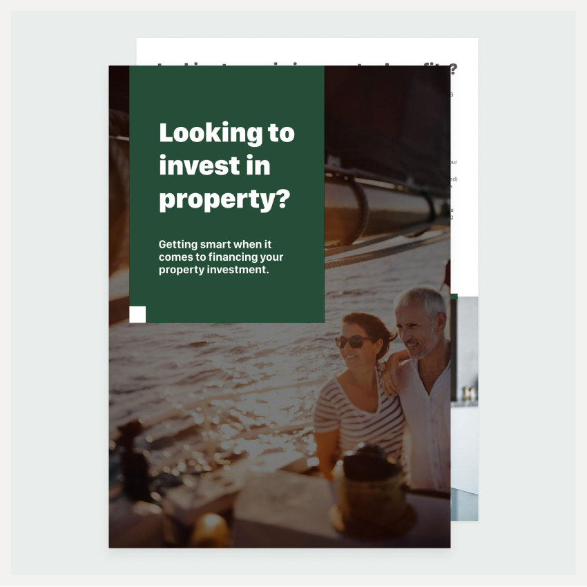 Image of an eBook titled Looking to Invest in Property