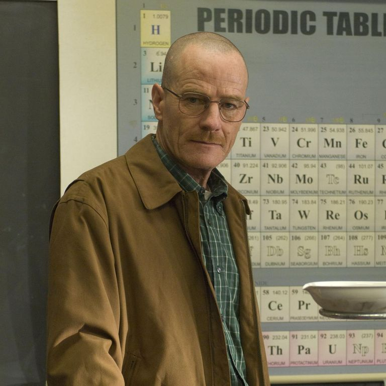 Photo of character Walter White in Breaking Bad