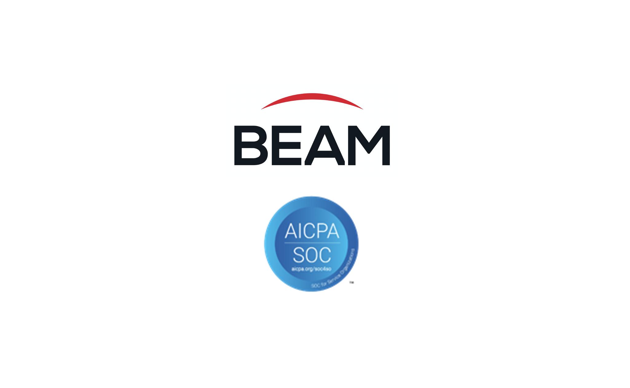 Beam Awarded SOC 2 Certification