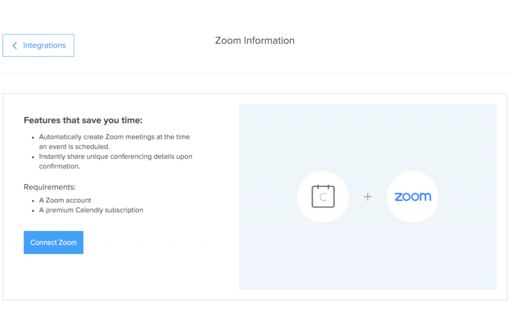 Calendly x Zoom
