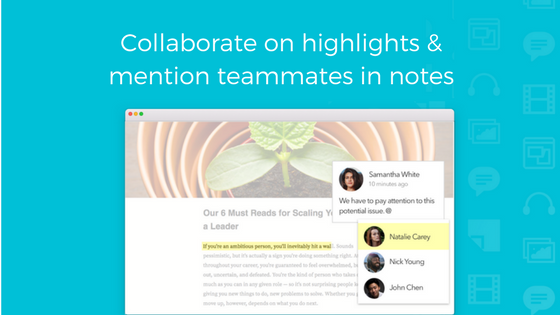 Article annotation for Slack