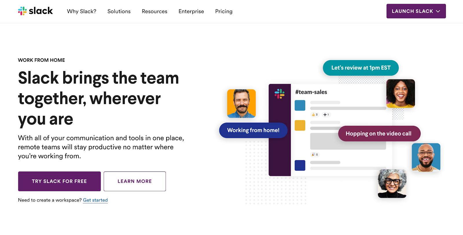 Startup Tool - Slack