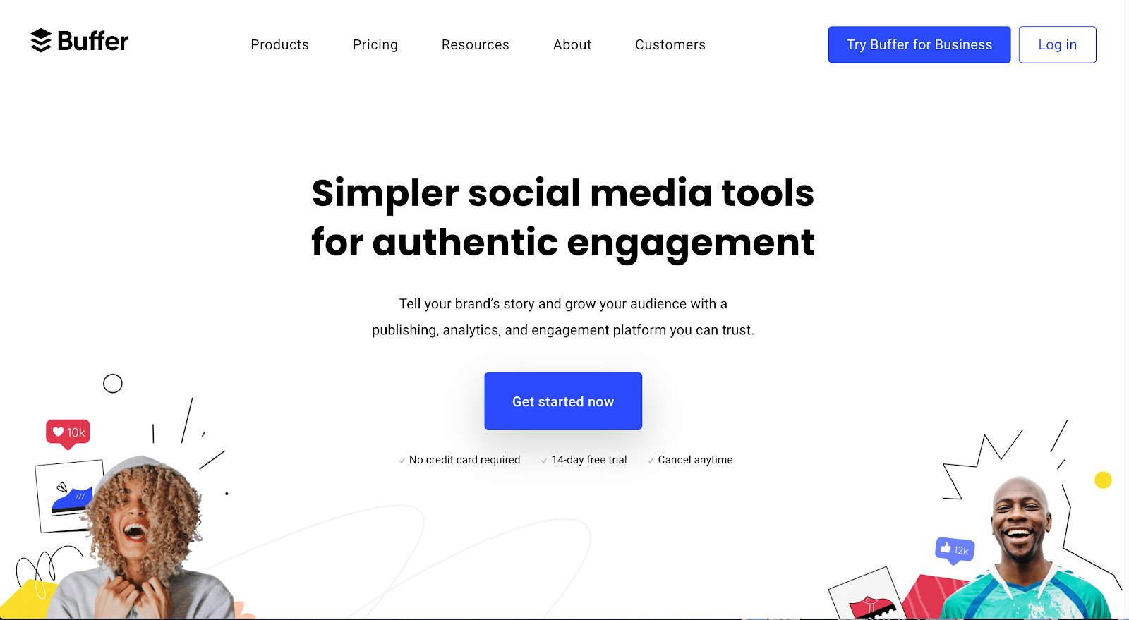 Startup tools - Buffer