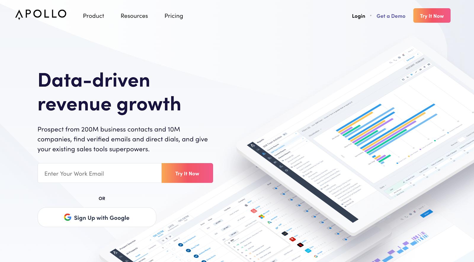 Startup platform - Apollo