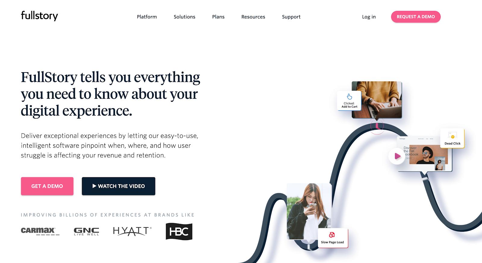 Startup tech stacks - Fullstory